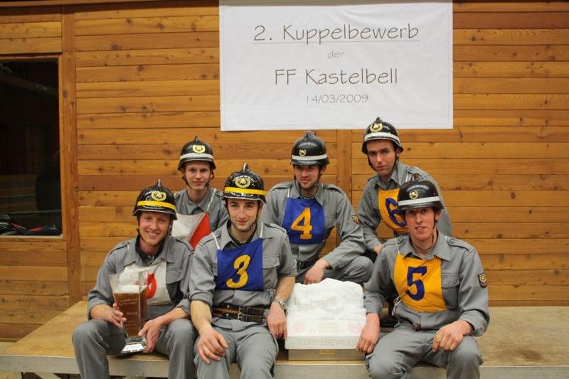 Bewerbsgruppe Aufkirchen - Sieger 2009