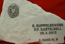 Pokale 2012 Kastelbell