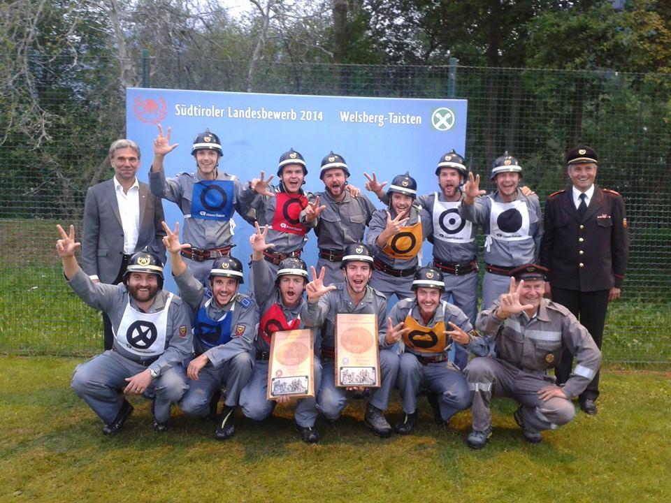 Wettkampfgruppe FF Kastelbell 2014