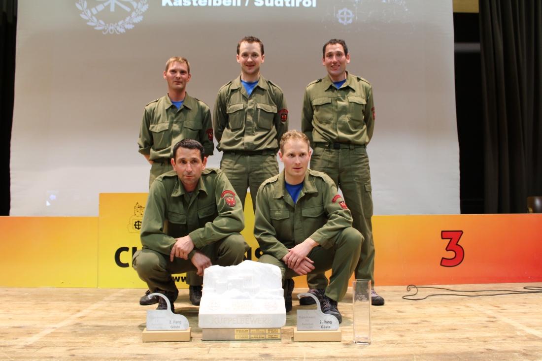 Bewerbsgruppe Ausservillgraten - 1 - Sieger 2014