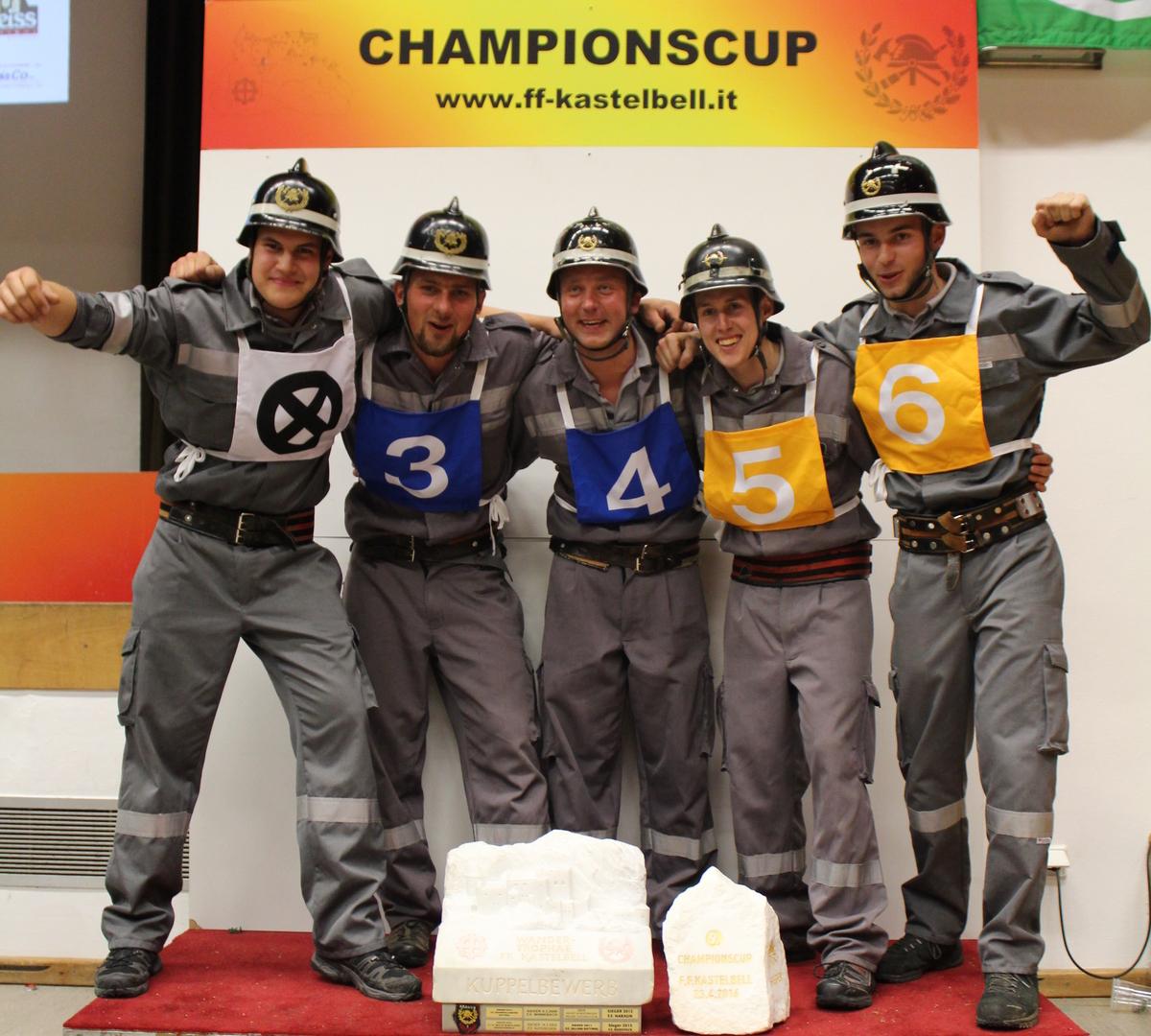 Bewerbsgruppe Naraun - Sieger 2016