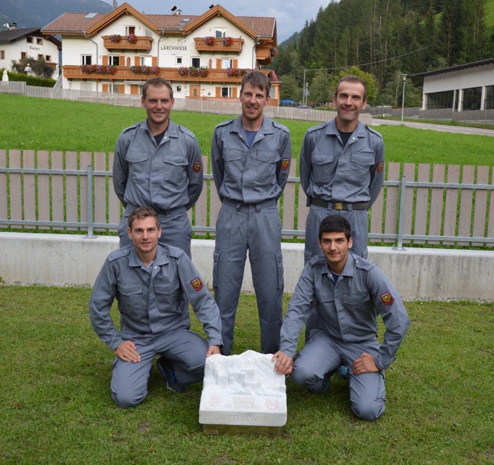 Bewerbsgruppe Steinhaus - Sieger 2018